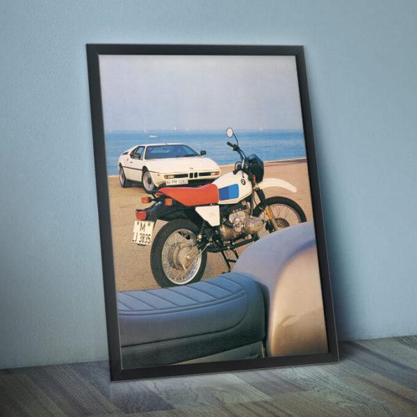 BMW R80G/S framed