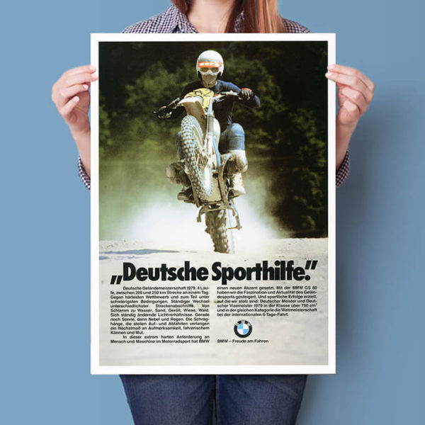 BMW R80 GS motocross