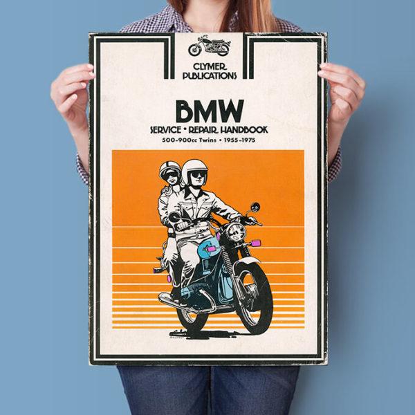 BMW R Twins Clymer Manual poster