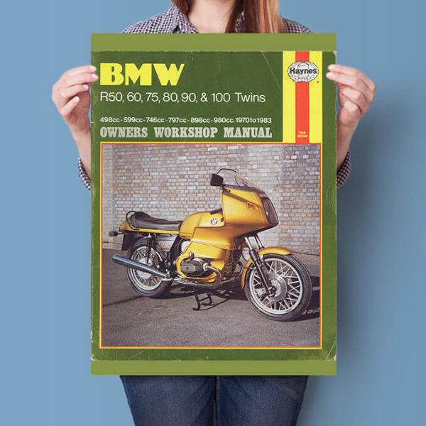 BMW R Twins Haynes Workshop manual cover