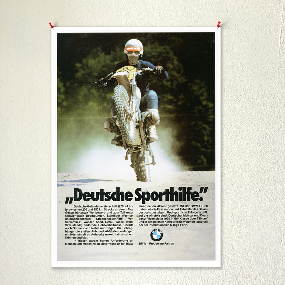 BMW R80G/S posters