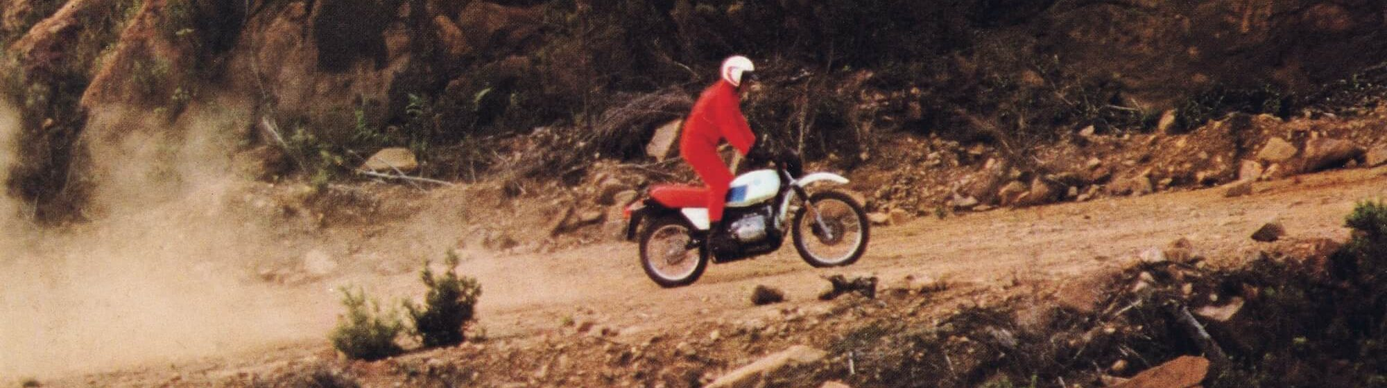 The BMW R80G/S in 1980: the first motorcycle featuring the 'monolever'