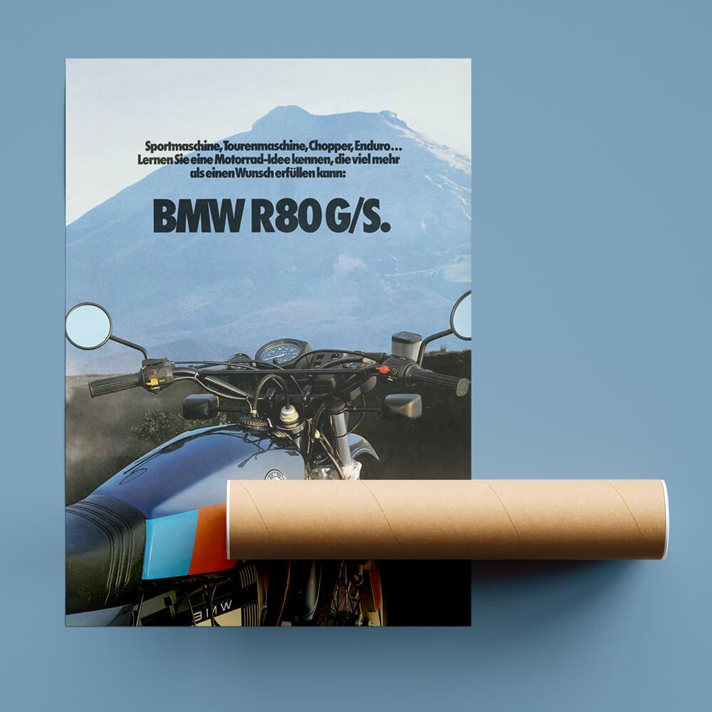 BMW R80G/S shipping tube