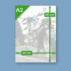 BMW R80 G/S 'Dunkelblau' | Poster