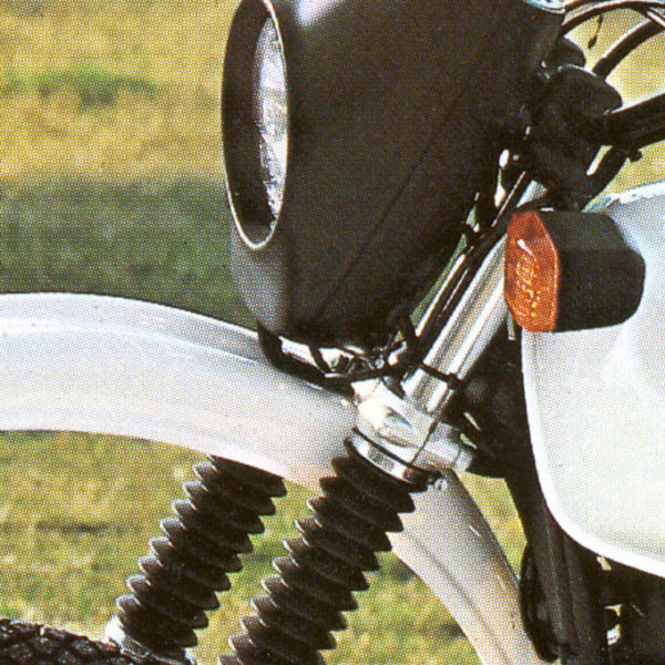 BMW R80GS detail