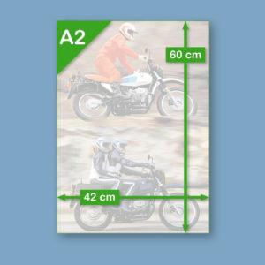 BMW R80 G/S Alpinweiss & Dunkelblau | Poster