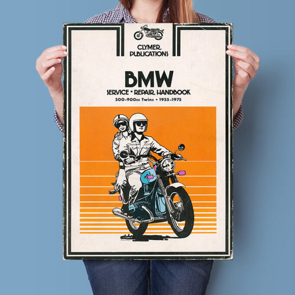 BMW R Twins Clymer Manual poster