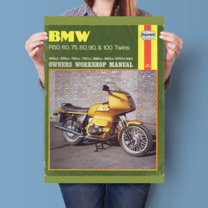 BMW R Twins Haynes Workshop Manual | Poster