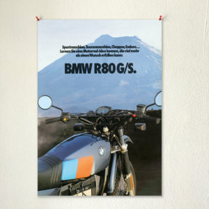 BMW R80G/S wall