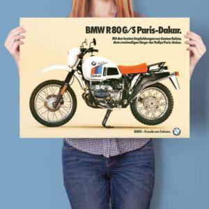 BMW R80G/S Paris-Dakar Prospekt