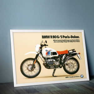 BMW R80G/S Paris-Dakar framed
