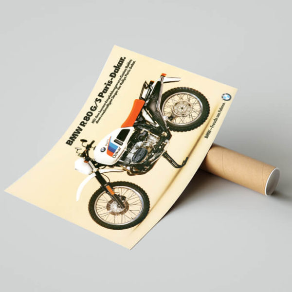 BMW R80G/S Paris-Dakar