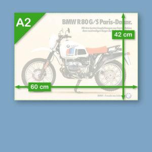 BMW R80 G/S Paris-Dakar | Poster