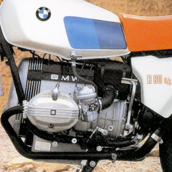 BMW R80 G/S Red White Alpineweiss
