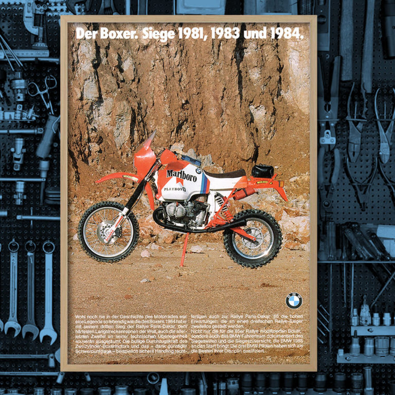 BMW R80G/S Gaston Rahier Paris-Dakar 1985