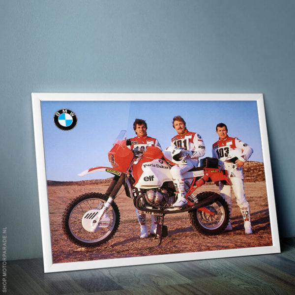 BMW R100 G/S Paris Dakar Gaston Rahier Hau Loizeaux